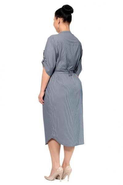 Артикул 307117 - платье большого размера - вид сзади
