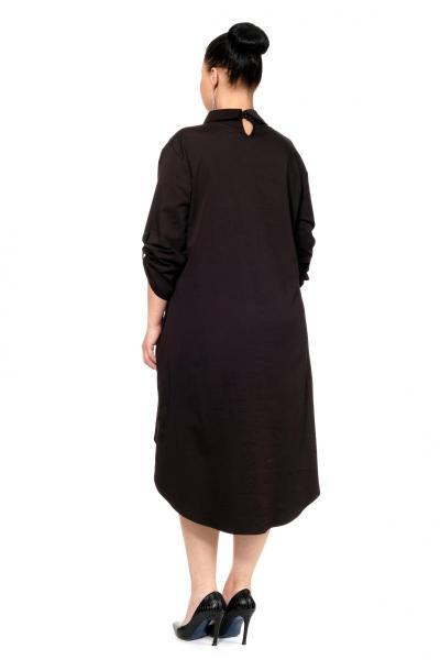 Артикул 301985 - платье большого размера - вид сзади