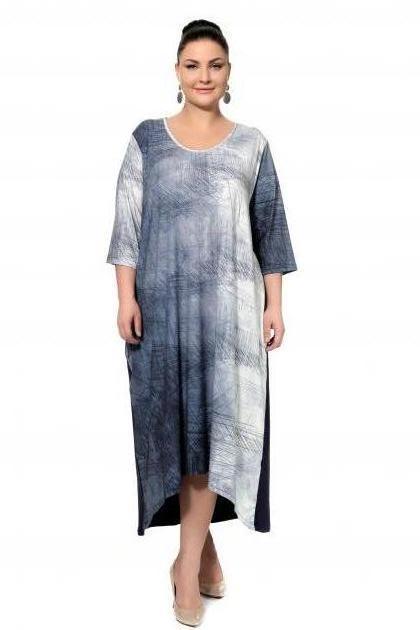 Артикул 301969 - платье большого размера