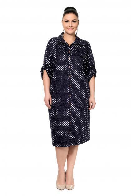 Артикул 302637 - платье большого размера