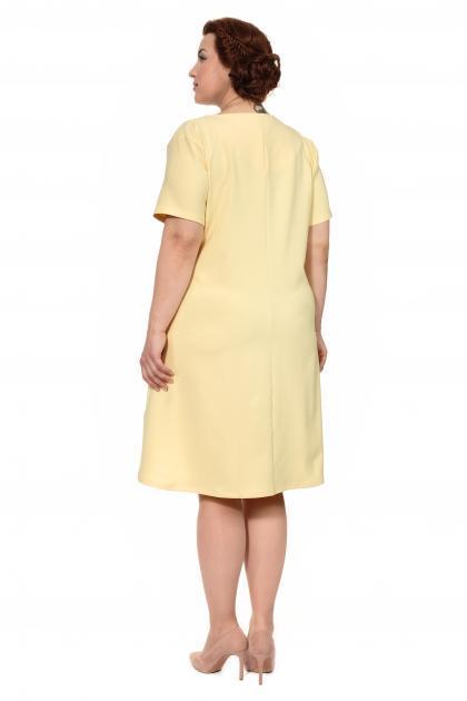 Артикул 302959 - платье большого размера - вид сзади