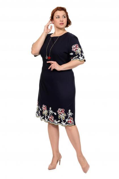 Артикул 304262 - платье большого размера