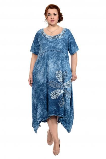 Артикул 300037 - платье большого размера