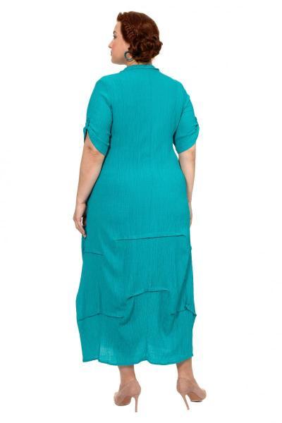 Артикул 303903 - платье большого размера - вид сзади