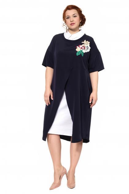 Артикул 305073 - платье большого размера