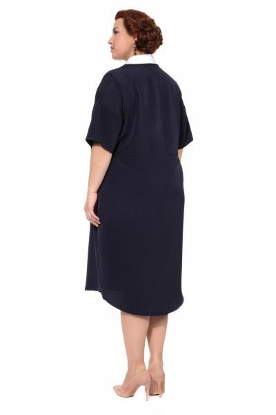 Артикул 305073 - платье большого размера - вид сзади