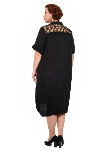 Артикул 307837 - платье большого размера - вид сзади