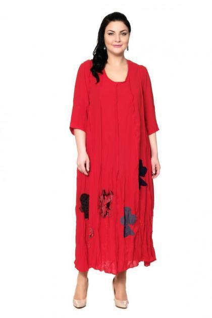Артикул 200530-3 - платье большого размера