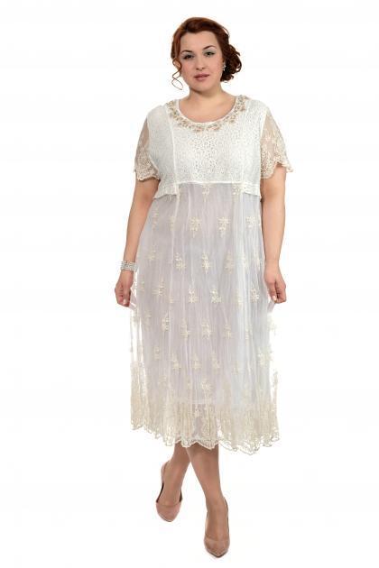 Артикул 307966 - платье  большого размера