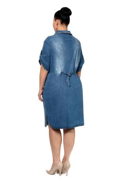 Артикул 302334 - платье большого размера - вид сзади