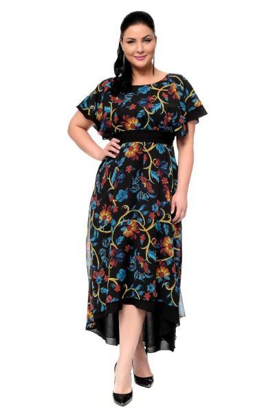Артикул 17324 - платье  большого размера