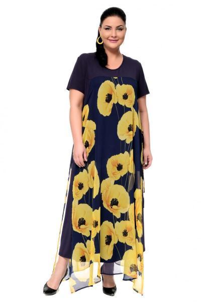 Артикул 17327 - платье большого размера