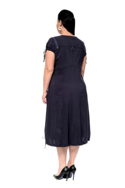 Артикул 17325 - платье  большого размера - вид сзади