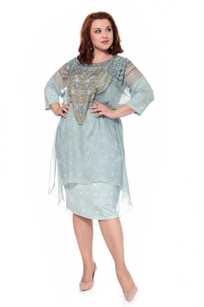 Артикул 906010 - платье большого размера