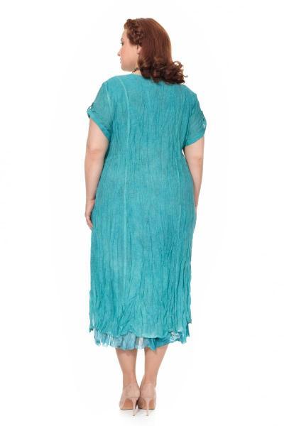 Артикул 303925 - платье большого размера - вид сзади