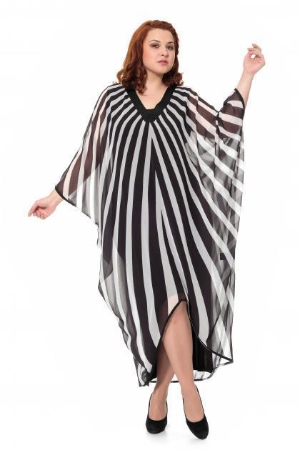 Артикул 906030 - платье большого размера
