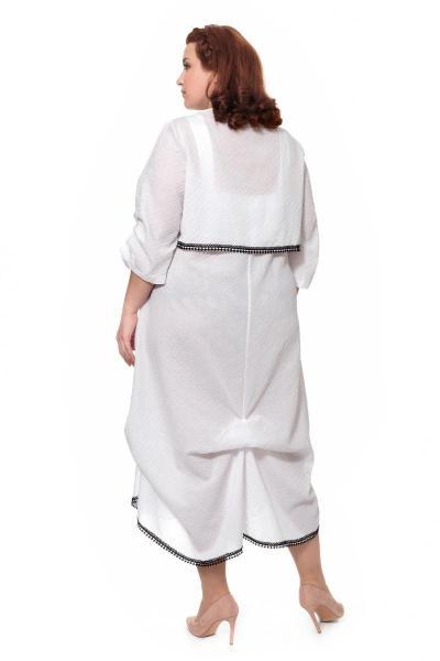 Артикул 306231 - платье большого размера - вид сзади
