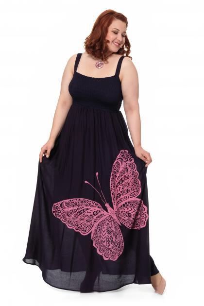 Артикул 17323 - платье большого размера