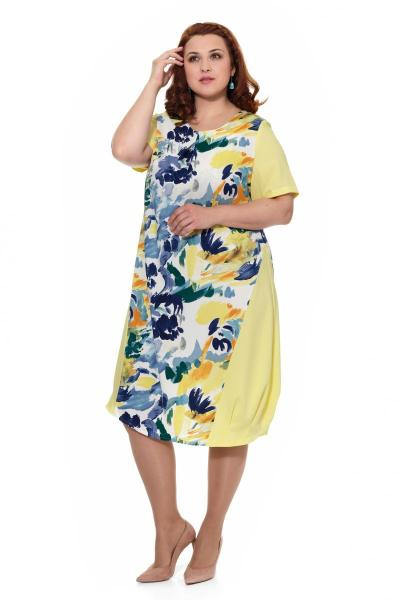 Артикул 17329 - платье большого размера