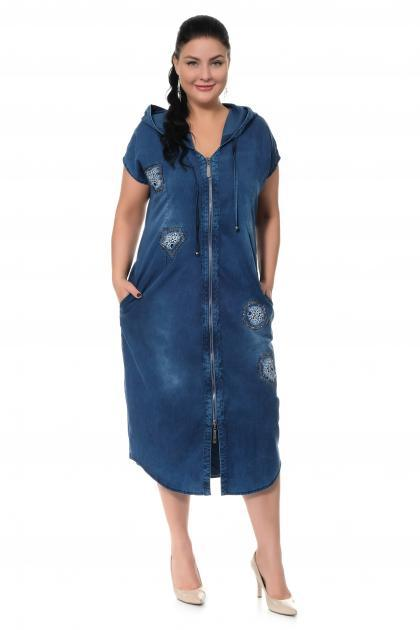Артикул 300407 - платье большого размера