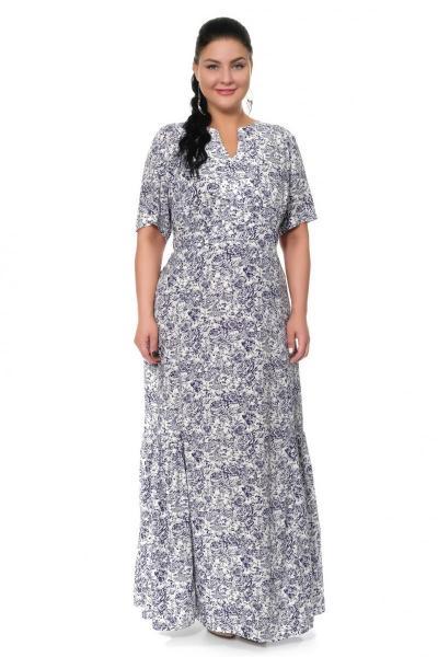 Артикул 17330 - платье большого размера