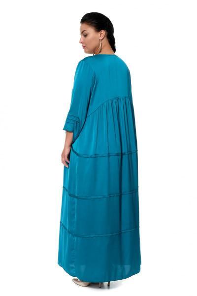 Артикул 17331 - платье большого размера - вид сзади