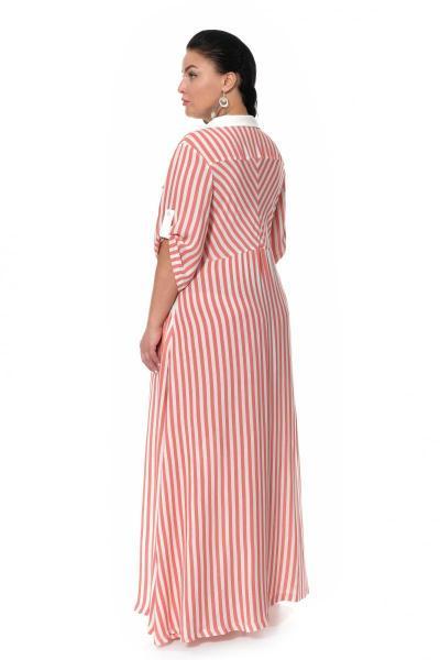Артикул 17333 - платье большого размера - вид сзади