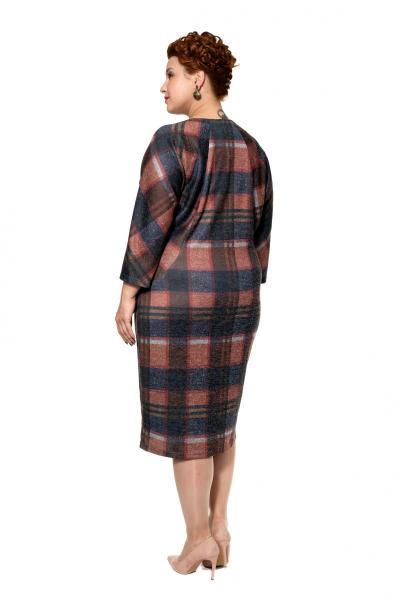Артикул 17341 - платье большого размера - вид сзади