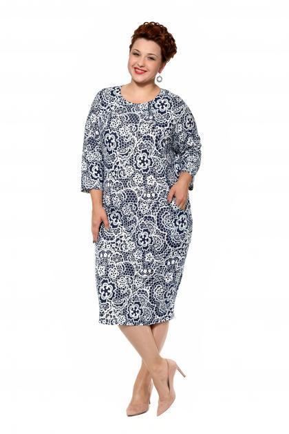 Артикул 17341 - платье большого размера