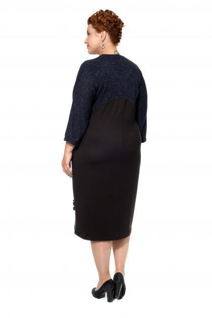 Артикул 17344 - платье большого размера - вид сзади