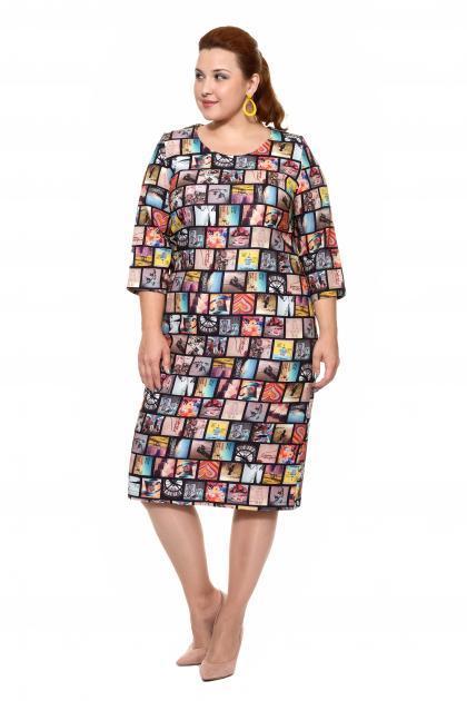Артикул 16371 - платье большого размера