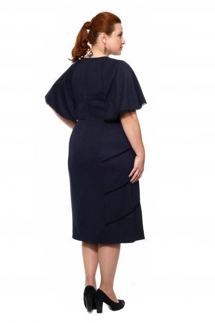 Артикул 16311 - платье большого размера - вид сзади