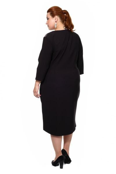 Артикул 201643 - платье большого размера - вид сзади