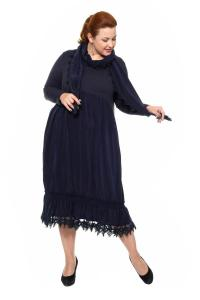 Артикул 202033 - платье большого размера