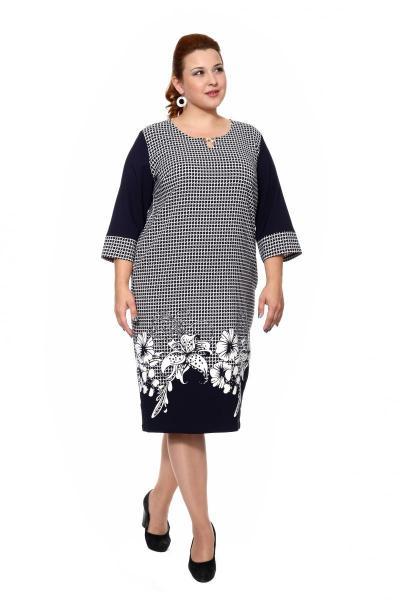 Артикул 203858 - платье большого размера