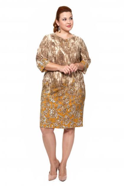 Артикул 203852 - платье большого размера