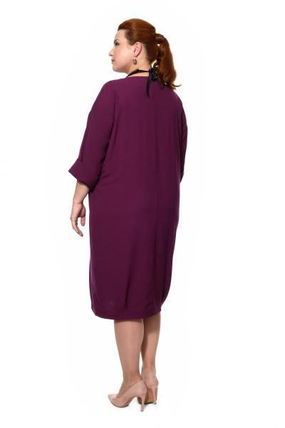 Артикул 16372 - платье большого размера - вид сзади