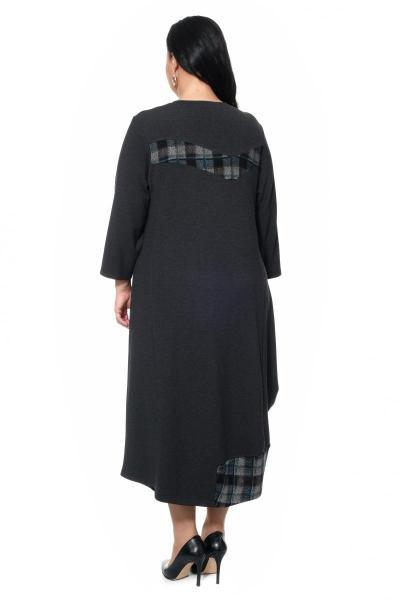 Артикул 17346 - платье большого размера - вид сзади