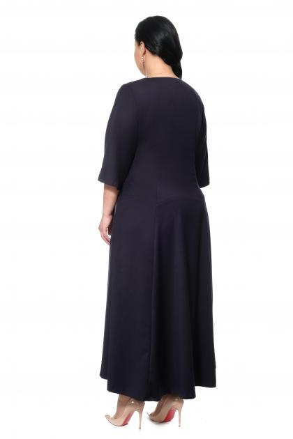 Артикул 17347 - платье большого размера - вид сзади
