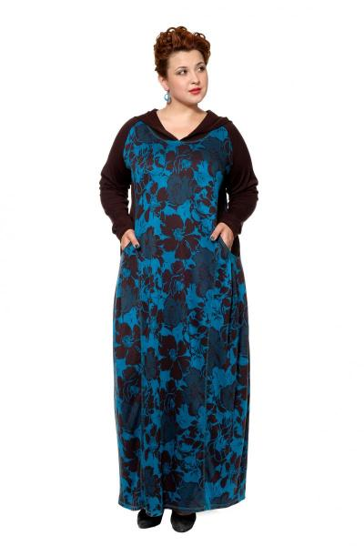 Артикул 17342 - платье большого размера