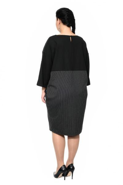 Артикул 302576 - платье большого размера - вид сзади