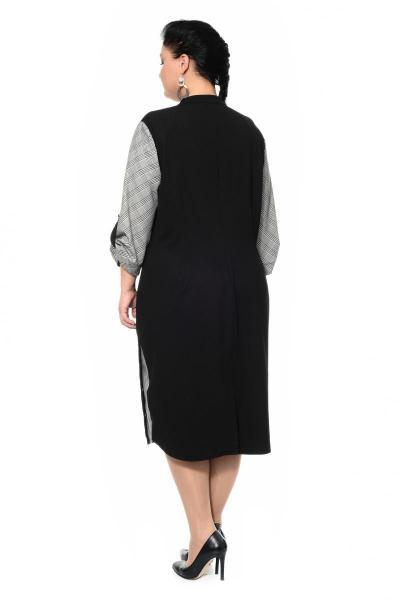 Артикул 303048 - платье большого размера - вид сзади