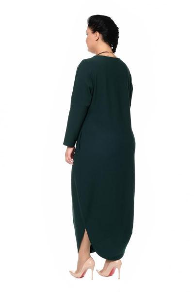 Артикул 304303 - платье большого размера - вид сзади