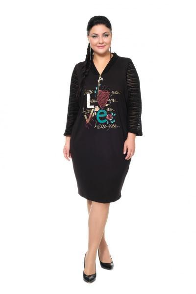 Артикул 306349-1 - платье большого размера