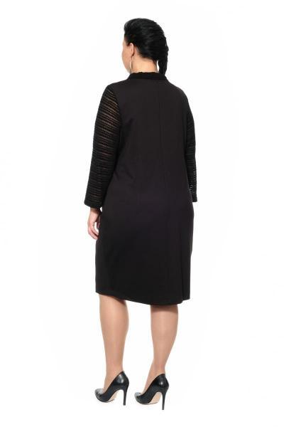 Артикул 306349-1 - платье большого размера - вид сзади