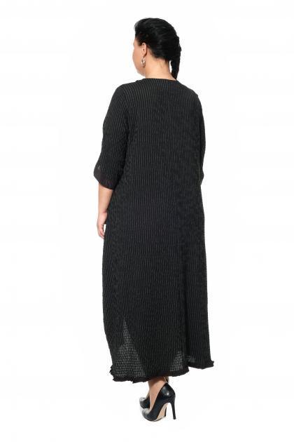 Артикул 300592 - платье большого размера - вид сзади