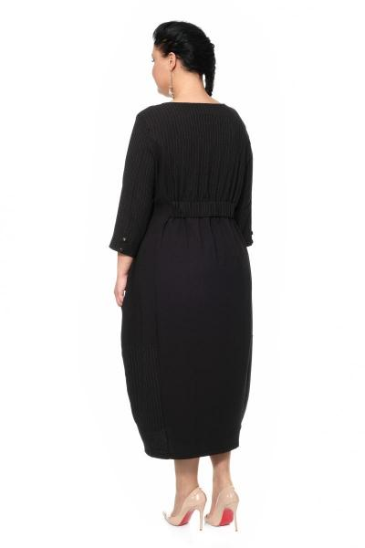 Артикул 335422 - платье большого размера - вид сзади