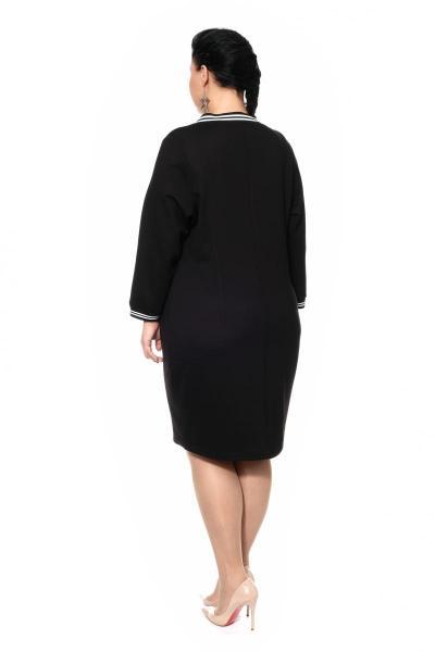 Артикул 306326 - платье большого размера - вид сзади