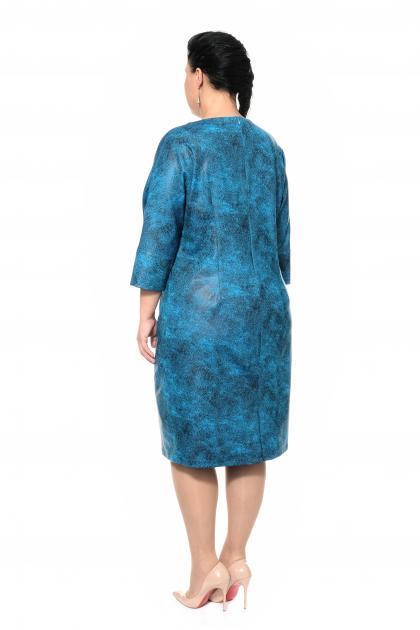 Артикул 306740-1 - платье большого размера - вид сзади