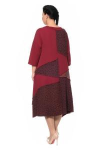 Артикул 300552-1 - платье большого размера - вид сзади